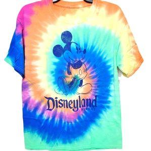 Disney Parks Disneyland Resort Mickey Tie Dye Tee